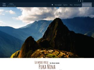 Agence Puka Nina : Circuit touristique organisé  au Pérou