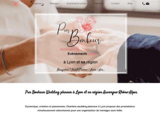 Pur Bonheur Wedding planner à Lyon et en région Auvergne-Rhône-Alpes