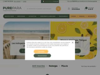 Détails : Parapharmacie en ligne à prix discount : PurePara