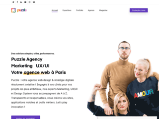 Détails : Puzzle Agency, agence web à Paris