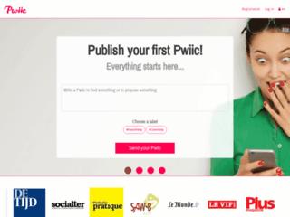Pwiic, votre plateforme de services
