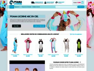 Boutique de pyjamas licornes