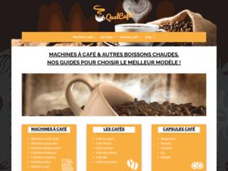 Les différents modèles de cafetière