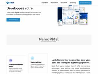 Détails : QuickTech - Société de création et communication