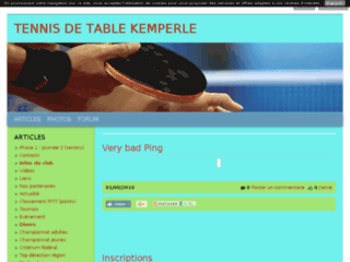 Quimperle Tennis de table