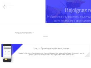 Détails : quotatis-pro.fr, spécialiste en détection de clients pour les pros en BTP