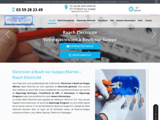 Raach Electricité : votre société de dépannage électrique à Boult-sur-Suippe 51110