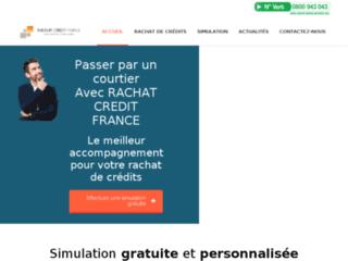 Rachat de crédits personnalisé avec Rachat Crédit France