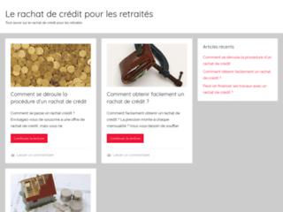 Détails : Le rachat de crédit pour les retraités