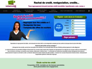Détails : Rachat de crédits, restructuration de crédits aux meilleurs taux