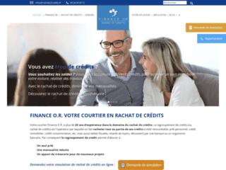 Finance O. R., votre courtier en rachat de crédits