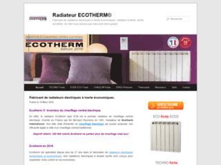 Détails : Radiateur électrique