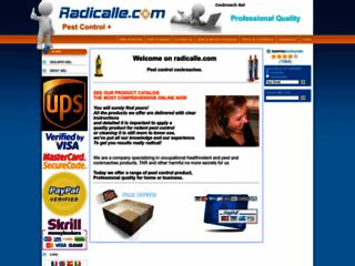 Radicalle.com : produits de désinsectisation et de dératisation
