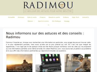 Radimou assistant shopping