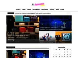 Site d'actualité