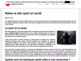 Détails : Rakeo sport