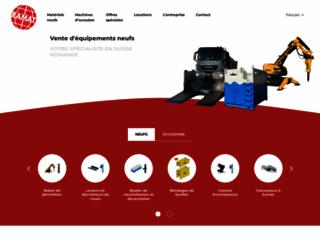 Détails : Machines de chantier neuves et d'occasion (Suisse)