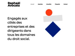 Détails : Raphaël Avocats, cabinet d'avocats spécialisés en droit social