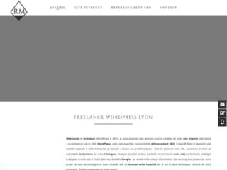 Raphael Meunier Création site internet Lyon