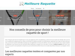 Détails : Information raquette de tennis