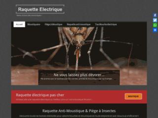 Tapette électrique à moustiques