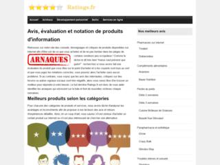 Détails : Notation et évaluation de produits pour un avis extérieur