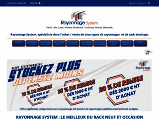 Rack de stockage - Rayonnage System