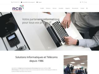 Détails : RCB informatique, spécialiste de la maintenance