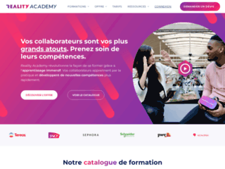 Reality Academy : formation réalité virtuelle