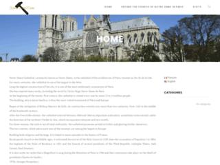 Rebâtir la cathédrale Notre Dame de Paris