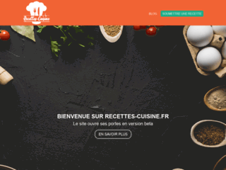 recette-cuisine.fr : le meilleur site pour découvrir des recettes de cuisine