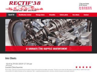 Détails : Rectification de pièces de moteurs de véhicules en Isère (38), Rectif 38