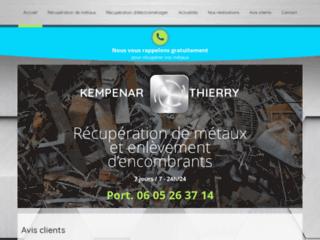 Détails : T. Kempenar récupère métaux et encombrants dans les Yvelines