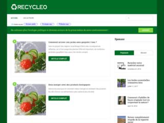 Recyleo: blog écologique