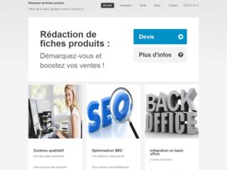 Détails : Rédacteur de fiches produits e-commerce