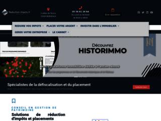 Réduction-Impots.fr, gestion de patrimoine et défiscalisation