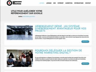 Détails : Blog sur le référencement