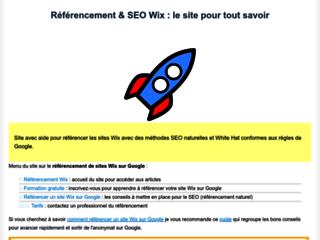 Détails : Référencement naturel de votre site Wix