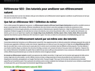 Détails : Toutes les informations sur le référencement SEO