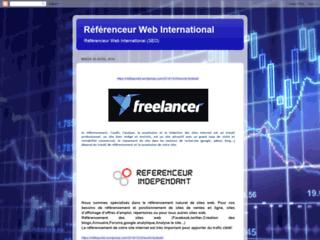 Référenceur Web Freelance International