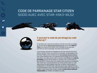 Détails : Code de parrainage Star Citizen : aide à l'inscription et premiers pas sur le jeu