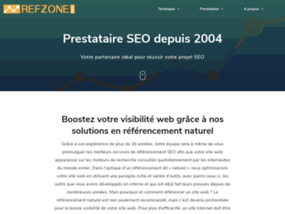 Détails : Agence SEO Refzone