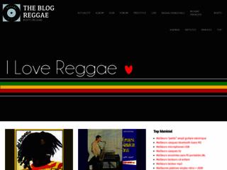 Détails : Blog reggae : le blog dédié au style musical reggae