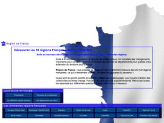 Détails : Région de France