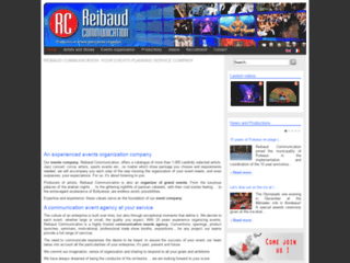 Détails : Reibaud Communication - Entreprise d'événementiel, organisateur de soirée et Agence de communication événementielle