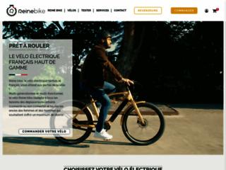 Le vélo électrique français multi-talents | Reine Bike