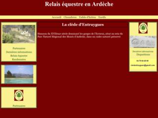 Relais équestre en Ardèche