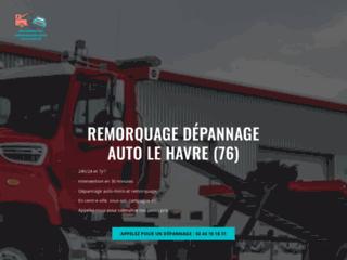 Détails : remorquage Le Havre