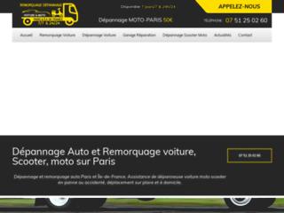 Remorquage voiture à Paris pas cher
