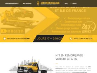 Remorquage voiture 95 Val d'Oise